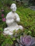 Garden Buddha, by Robin Caster