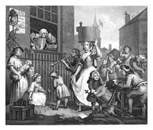 William Hogarth, The Enraged Musician
