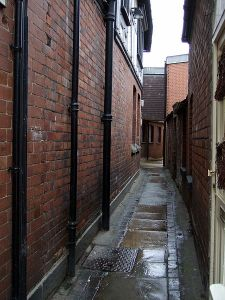 Shuts and passages Shrewsbury
