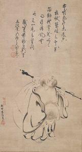 Hotei    Kano Takanobu, 1616