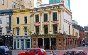The Crown Bar Belfast, Northern Ireland