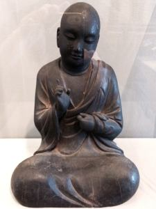 Wooden monk