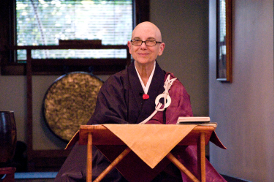 Shinge Roshi, Abbot, Dai Bosatsu Zendo and the Zen Center of Syracuse